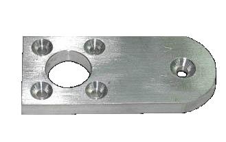 Prototipi meccanica online, esempio particolare ottenuto da centro cnc - Multifaber