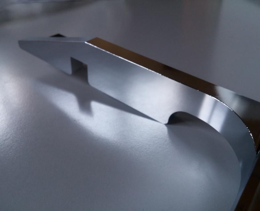 alluminio CNC cromato